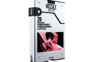 C4D模型 导弹 模型 武器模型套件【模型】