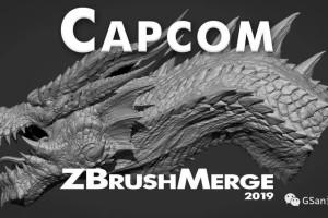 Capcom 介绍怪物猎人的模型雕刻【教程】