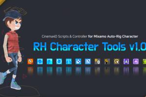 人物绑定插件:RH Character Tools v1.03_181025
