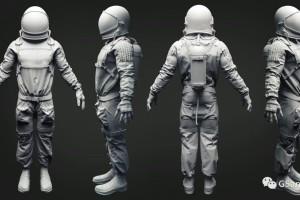 C4D模型 宇航员模型【模型】