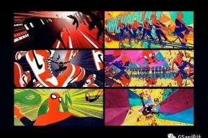 怎么利用C4D制作《蜘蛛侠:平行宇宙》的背景画面【教程】