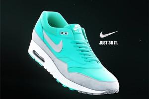 耐克运动鞋C4D模型(白模) NikeAirmax