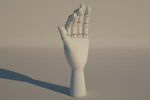 C4D模型 手模型 机械手【模型】