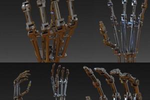 终结者 terminators t-800 Arm 液压机械手臂【模型】