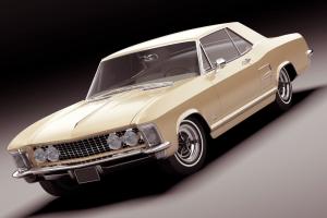 yen.17414.87-Turbosquid-Buick-Riviera-1963老爷车 汽车模型 复古汽车模型【模型】