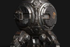 硬表面机械机甲机器组件零件C4D模型合集  机器模型【模型】