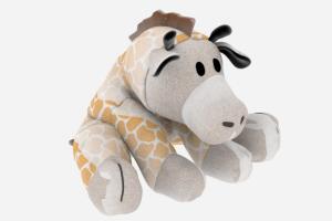 C4D模型 玩具模型 玩具长颈鹿 卡通长颈鹿【模型】