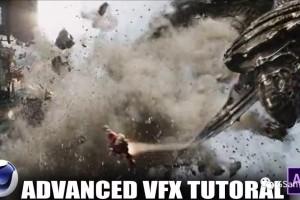C4D制作VFX的楼房破碎教程 第一部分【教程】