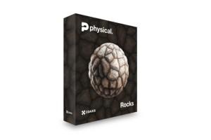 500组岩石石头PBR无缝纹理贴图合集 CGAxis第19季【贴图】【岩石贴图】
