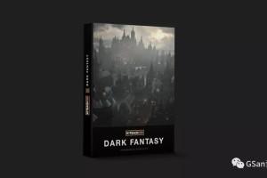 Kitbash3d_DarkFantasy-Native哥特建筑群 建筑【模型】