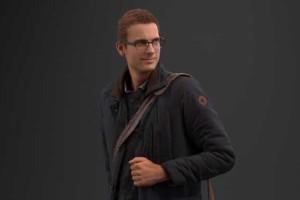 背包的青年上班族男性 男人 8K 【模型】