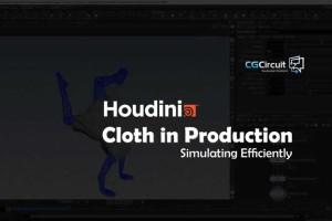 cgcircuit-Houdini布料的制作【教程】