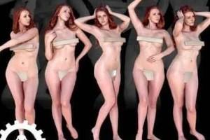 裸体女人【模型】