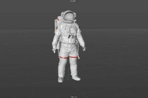 NASA宇航员模型【模型】