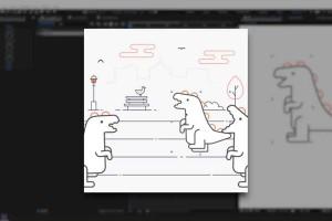 运动设计学院的AE动态图形卡通制作【Expressions Trip AAEnglishAA - Motion Design School】【教程】