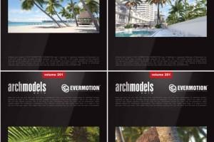 40个热带植物模型 椰子树【Evermotion Archmodels  Vol 201】【模型】【28】
