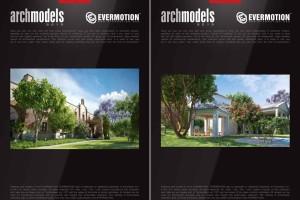 40个高精度植物树木【Evermotion Archmodels  Vol 210】【模型】