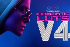 35个LUTs调色【Triune Digital Cinematic LUTs Pack 4】