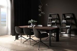 现代客厅 椅子 植物 灯 书架【beinspiration 96】【模型】