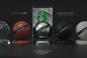Octane for C4D 材质纹理预设 - Octane Texture Pack 2