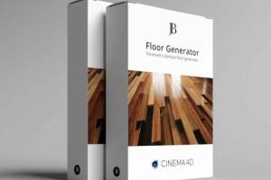 C4D木地板生成器预设2 Floor Generator 2