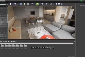 UE4中制作家装展示效果【Artstation - Creating Archviz in Unreal Engine】