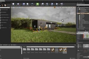 虚幻引擎和Quixel Megascans结合制作可视化建筑【Lynda – Unreal Engine and Quixel Megascans  Architectural Visualization】