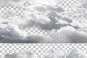 50张6K 云朵 云 白云 照片素材【Photobash.Clouds.ISO-SOFTiMAGE】
