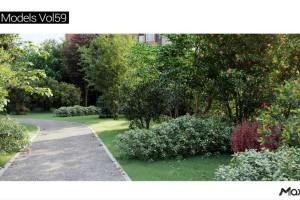 23个灌木 植物 树木 春天植物模型【MT_PM_V59】