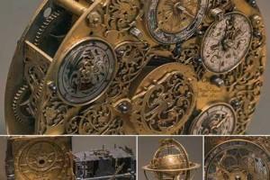 129张 2k怀表 古代钟表 怀表图片素材【Ornate Clockworks】
