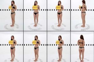 人物360度姿势参考 照片素材