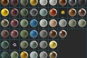 SP地板材质纹理【Substance Source Project 09 - 45 Assets】