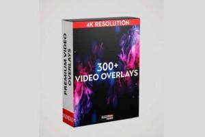 300个 4K礼花、粒子视频素材【Video-presets - 300+ 4k Video Overlays】