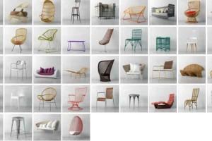 40个现在椅子模型【Archmodels Vol 135】