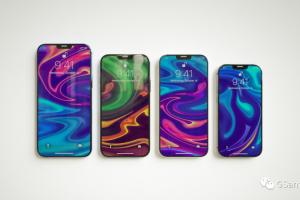 Apple iPhone 12全系列手机模型 C4D OCtane