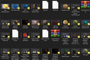 众多制作SD贴图的教程【Patreon - Karalysson Collection 02】