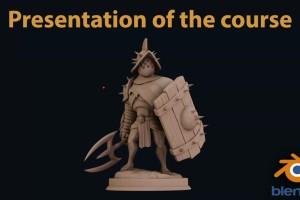用Blender雕刻人物【Parabox Character Sculpting with Blender】