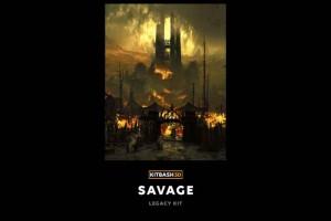 Kitbash3D-古代蛮人房屋【Kitbash3D-Savage】