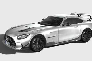 奔驰车模型【Mercedes-Benz AMG GT Black Series 2021】