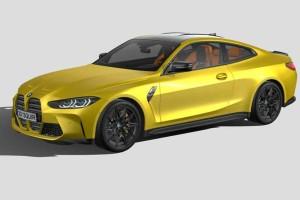 宝马车模型【BMW M4 G82 2021】