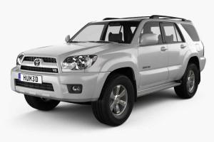 丰田汽车模型【Toyota_4Runner_2005】