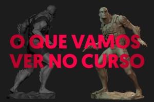ZBrush 人鱼雕刻教程【Criando Colecionaveis para impressao 3D】【免费】
