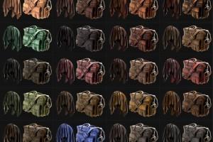 20个修皮革纹理贴图【20 Leather Smart Materials + PBR Textures】【免费】