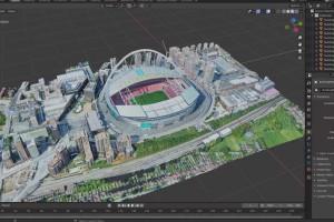 从google地图下载3D模型【Skillshare - Download 3D Models from Google Maps for Blender or Unreal Engine】【免费】