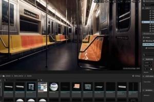 UE5制作写实地铁内部【Artstation - Creating a metro train interior in Unreal Engine 5】