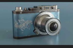 Blender制作一个相机教程【Udemy - Vintage Camera Creation in Blender 3D and Substance Painter】
