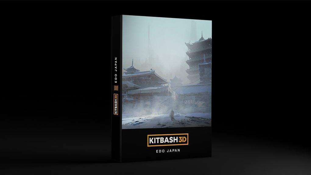 Kitbash3d_EDO JAPAN(江户日本)【模型】