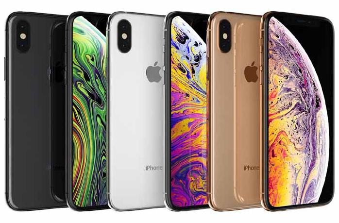 苹果手机 Apple iPhone XS 3D模型(包含所有颜色) MAX obj含贴图 含材质