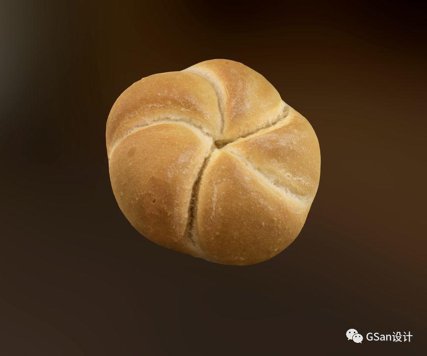 面包模型  甜甜圈【模型】【高级群】