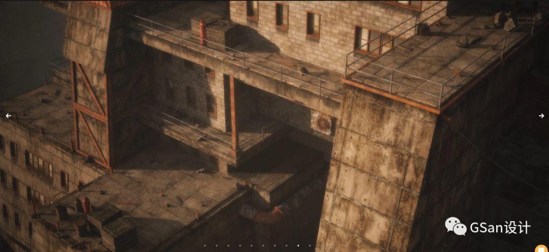 Kitbash3d - Wasteland_荒地 造船厂 废旧工厂【模型】【高级群】